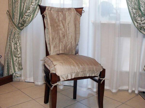 универсальный чехол на стулья выкройка.